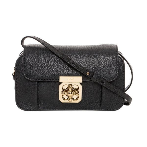 Chloe Mini Elsie Leather Crossbody - 16803042 - Overstock.com ...