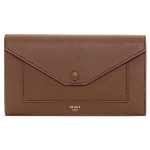 Celine Large Pocket Flap Multifunction Wallet - 16803044 ...
