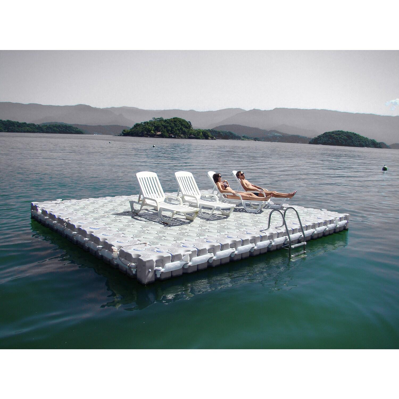 Dock Blocks Modular Floating Dock Overstock Shopping