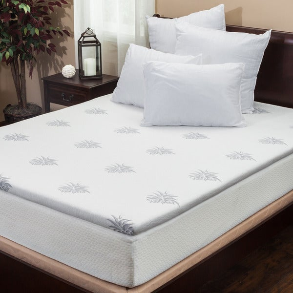 Christopher Knight Home 2-inch Gel Memory Foam Mattress Topper (As Is Item)