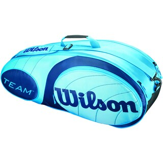 Wilson Team Blue 6 Racquet Tennis Bag