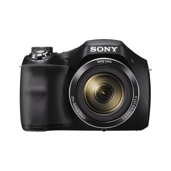 Sony Cyber-Shot DSC-H300 Black 20.1MP Digital Camera