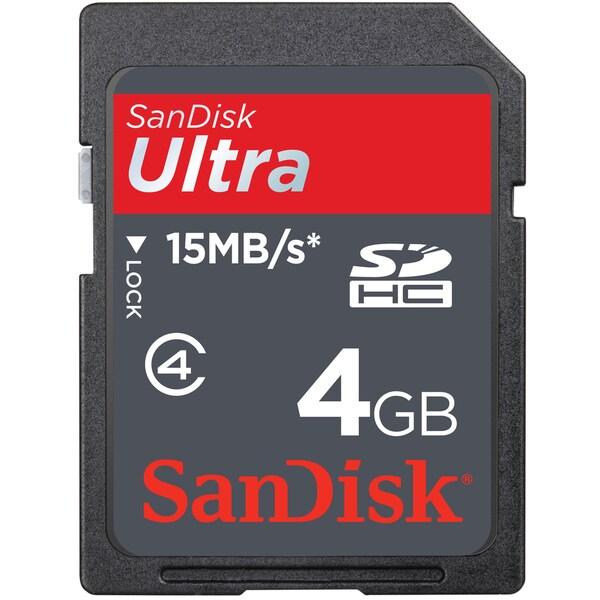 Sandisk 4GB SDHC Ultra II Memory Card