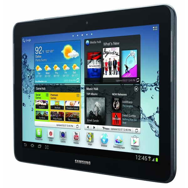 Samsung Galaxy Tab 2 Silver 16GB 10.1 Tablet (New in Non-retail Packaging)