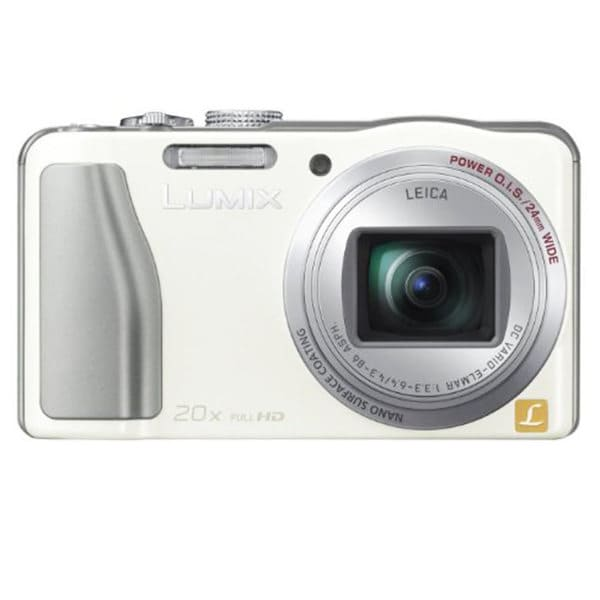 Panasonic DMC-TZ30 White 4.1MP Digital Camera