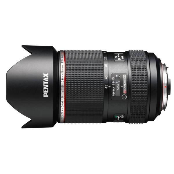 Pentax HD PENTAX-DA645 28-45mm f/4.5 ED AW SR Wide Angle Lens