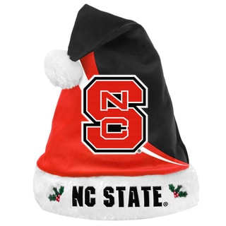 Forever Collectibles NCAA North Carolina State Wolfpack Swoop Santa Hat