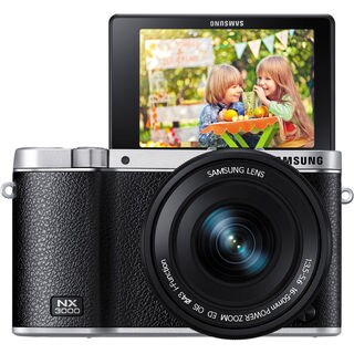 Samsung NX3000 Mirrorless Black Digital Camera with 16-50mm Lens