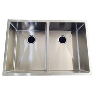 Starstar Double Bowl Undermount 16 Gauge 304 Stainless Steel Kitchen Sink