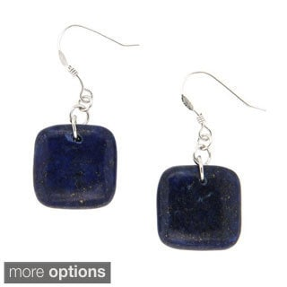 Pearlz Ocean Lapis Lazuli Dangle Earrings