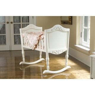 Antique White Cradle
