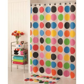 French Bull Multi Dot Shower Curtain
