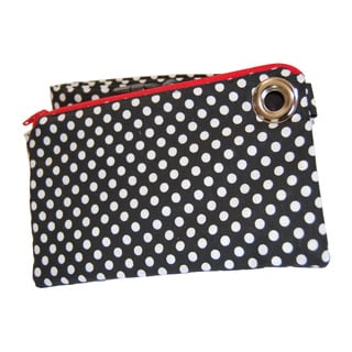 LillyMae Bag Black Polka Dot Waist Pack