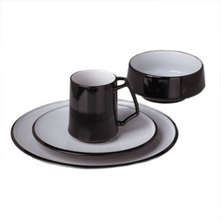 Lenox Kobenstyle Black 4-Piece Place Setting