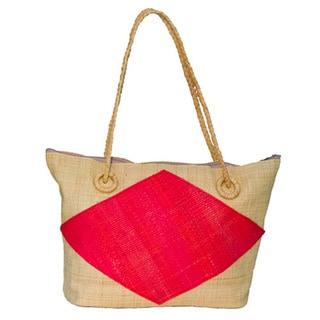 Niya Handmade Eco-friendly Raffia Tote Bag (Cameroon)