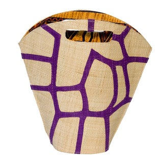 Flora Handmade and Eco-friendly Raffia Tote Bag (Cameroon)