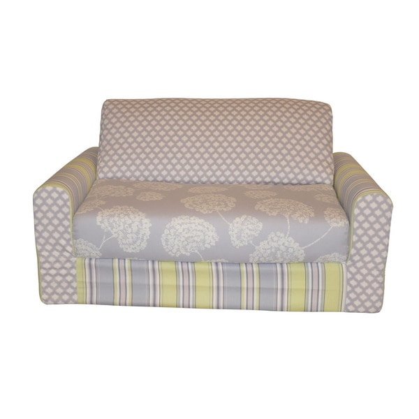Lilac Combination Sleeper Sofa