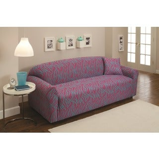 Stretch Jersey Zebra Sofa Slipcover