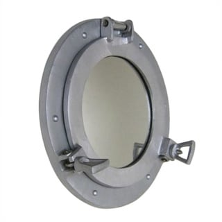 Port Hole Aluminium Mirror