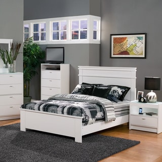 Madison White California King Bed