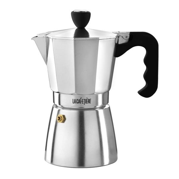 La Cafetiere Stovetop Espresso 6C Polished