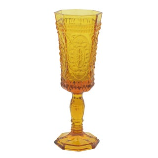 Vatican Amber Flute Glass (Set of 6)