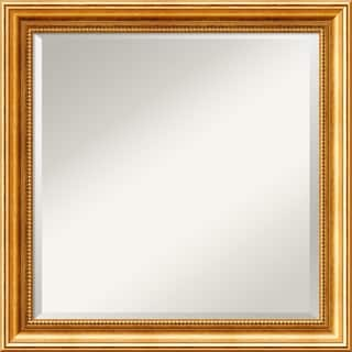 'Townhouse Gold Wall Mirror - Square' 23 x 23-inch