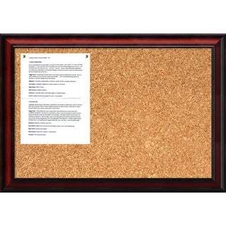 Rubino 27 x 19 Medium Message Cork Boards