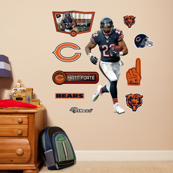 Fathead Jr. Matt Forte Wall Decals