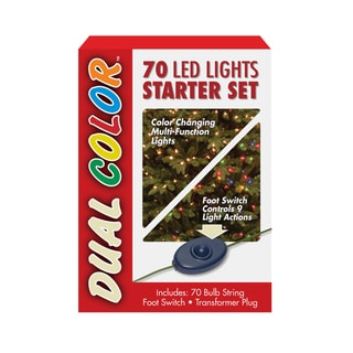 70 Bulb Dual Boxed Light Low Voltage LED Lights starter set