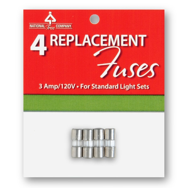 Replacement Fuses (Pack of 4)