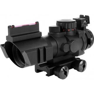 Tri-illumination Scope Fiber Optic Sight/ 4x32mm/ 0.75 Circle