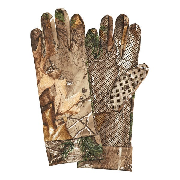 Hunter's Specialties Gloves Spandex Silver/ Realtree Xtra
