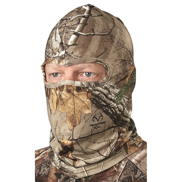 Hunter's Specialties Headnet Spandex Silver/ Realtree Xtra