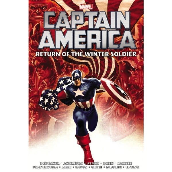 Captain America: Return of the Winter Soldier Omnibus (Hardcover) 14341540