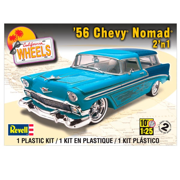 Revell 56 Chevrolet Nomad 1:25 Scale Plastic Model Kit