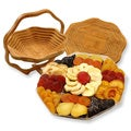 Trivet and Dried Fruit Gift Basket