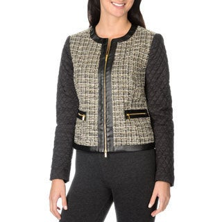 Grace Elements Women's Tweed Jacket