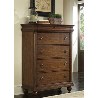 Liberty Rustic Cherry Traditions 5-Drawer Chest