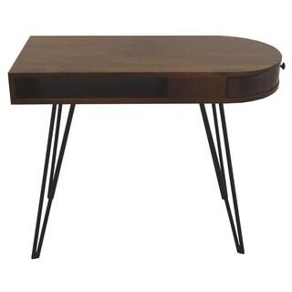 Christopher Knight Home Kosli Dark Brown One-Drawer Writing Desk