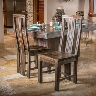 Christopher Knight Home Grey Dining Chair (Set of 2)