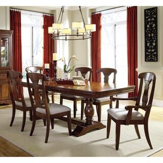 Benchcraft Manufactured by Ashley Furniture Industries Leximore Dark Brown 5-piece Dining Set