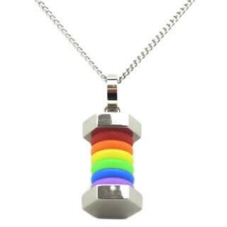 Rainbow Gay Pride Necklace