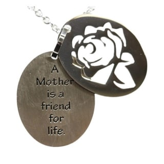 A Mother is a Friend For Life Necklace