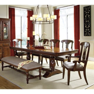 Benchcraft Manufactured by Ashley Furniture Industries Leximore Dark Brown 6-piece Dining Set