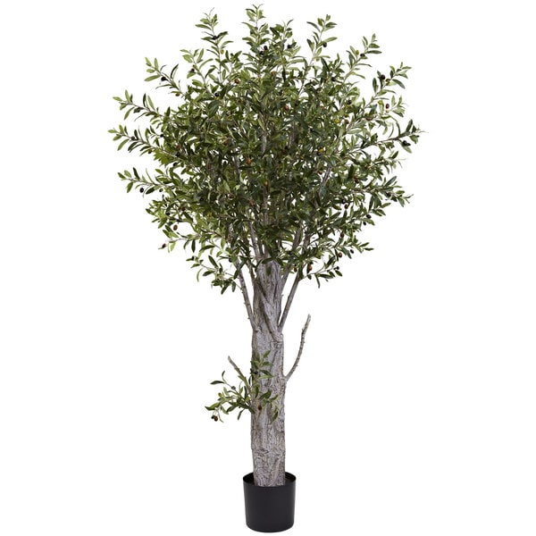 Nearly Natural Olive Silk Tree