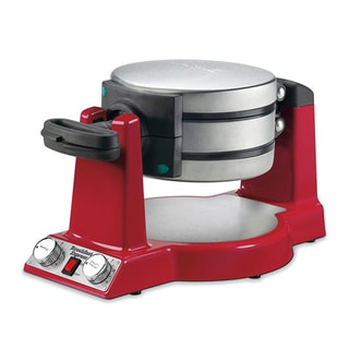 Waring WMR300 Red Belgian Waffle and Omelet Maker
