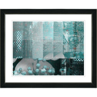 Studio Works Modern 'Urban Puzzle' Framed Fine Art Print