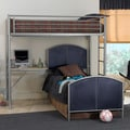 Brayden Twin-size Loft Study Center
