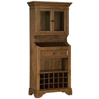 Tuscan Retreat Tall Slanted 2-door Wine Rack